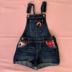 Girls Jordache Jean overalls 7/8